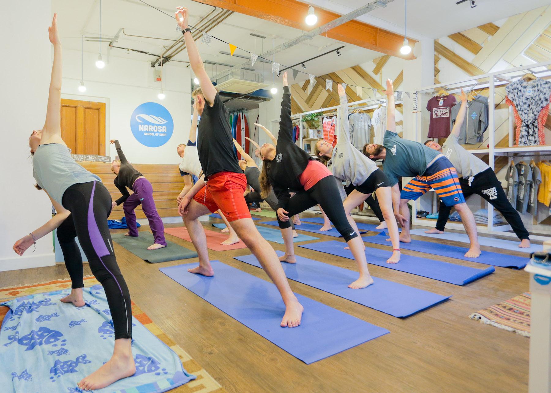 Yoga Mondays at Narosa